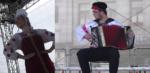 Vítěz letošního celostátního kola akordeonové soutěže Adam Drápal a Lenka Chalabalová